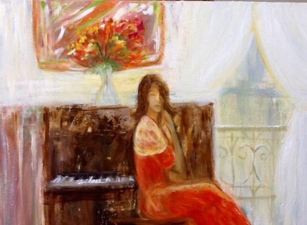 Katia ao Piano