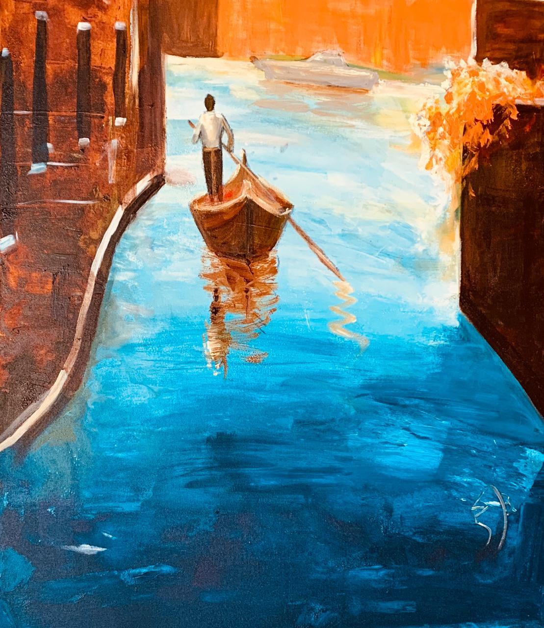 Na água de Veneza